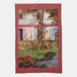 Edouard Manet - House in Rueil Hand Towels