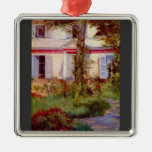 Edouard Manet - House in Rueil Christmas Tree Ornament
