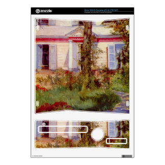 Edouard Manet - House in Rueil Skins For Xbox 360 S