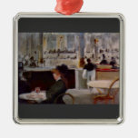 Edouard Manet - In Cafe Christmas Ornaments