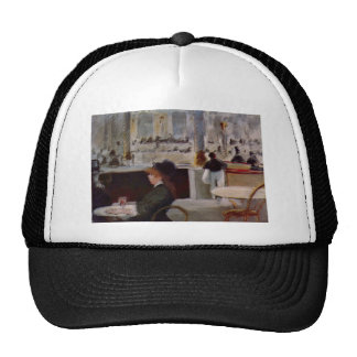 Edouard Manet - In Cafe Mesh Hats