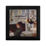 Edouard Manet - In Cafe Jewelry Boxes