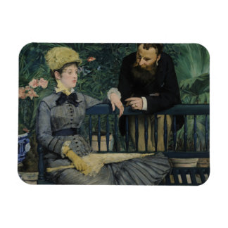 Edouard Manet - In the Conservatory Magnet