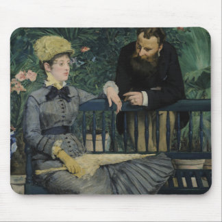 Edouard Manet - In the Conservatory Mouse Pad
