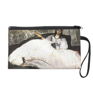 Edouard Manet- Lady with a Fan Wristlet Purse