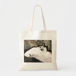Edouard Manet- Lady with a Fan Tote Bags