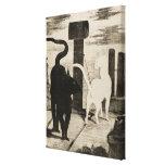 Edouard Manet Le Rendez-vous des Chats Canvas Print