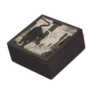 Edouard Manet ~ Le Rendez-vous des Chats Jewelry Box