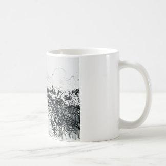 Edouard Manet - Les Courses Coffee Mug