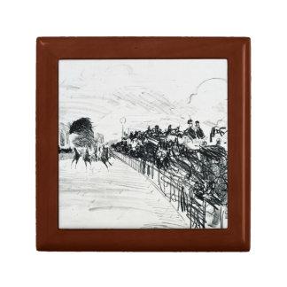 Edouard Manet - Les Courses Jewelry Box