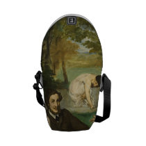 Edouard Manet - Luncheon On The Grass Courier Bag