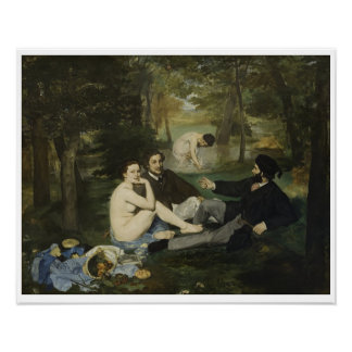 Edouard Manet - Luncheon on the Grass Poster