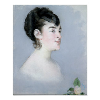 Édouard Manet Mademoiselle Isabelle Lemonnier Poster