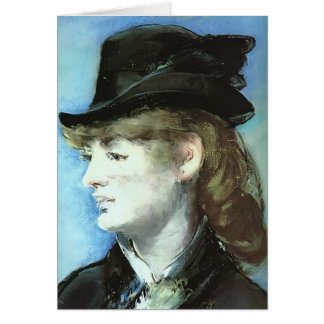 Edouard Manet-Model for Bar at the Folies-Bergère Greeting Cards