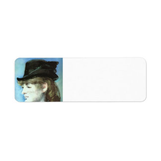 Edouard Manet-Model for Bar at the Folies-Bergère Custom Return Address Labels