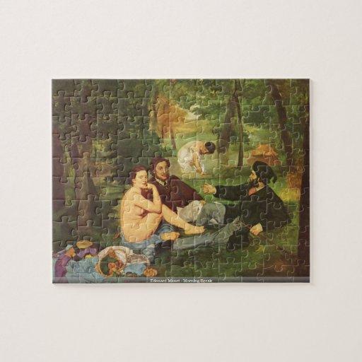 Edouard Manet - Morning Break puzzle