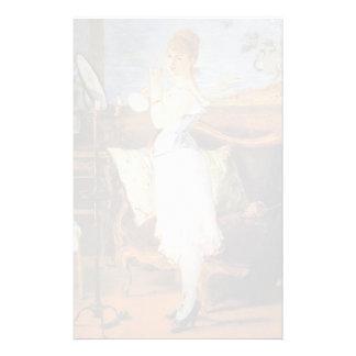 Edouard Manet- Nana Customized Stationery