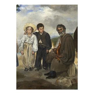 Edouard Manet Old Musician Invite