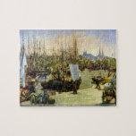 Edouard Manet - Port of Bordeaux puzzle