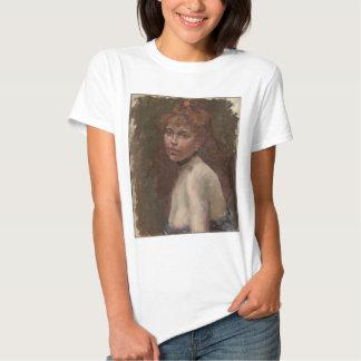Edouard Manet portrait of Mary Laurent Paris T Shirts