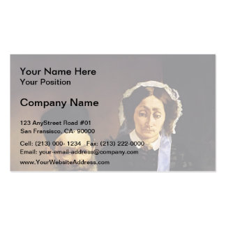 Edouard Manet-Portrait of Monsieur,Madame Auguste Business Card Templates