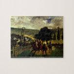 Edouard Manet - Race at Longchamp puzzle
