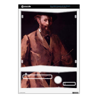 Edouard Manet - Self Portrait with Pallette Xbox 360 S Skins