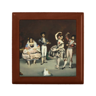 Edouard Manet - Spanish Ballet Jewelry Box
