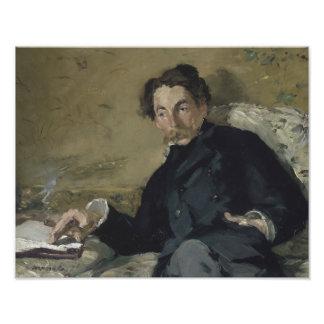 Edouard Manet - Stephane Mallarme Photo Print