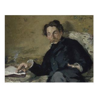 Edouard Manet - Stephane Mallarme Postcard