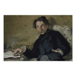 Edouard Manet - Stephane Mallarme Poster