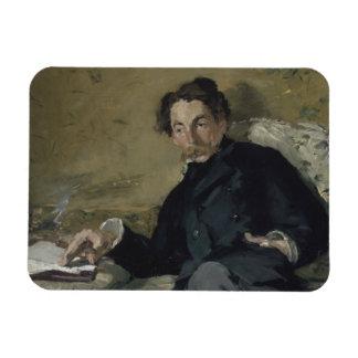 Edouard Manet - Stephane Mallarme Rectangular Photo Magnet
