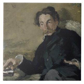 Edouard Manet - Stephane Mallarme Tile