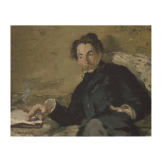 Edouard Manet - Stephane Mallarme Wood Print
