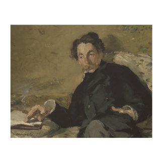 Edouard Manet - Stephane Mallarme Wood Wall Art