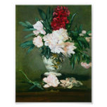 Edouard Manet - Still Life Vase with Peonies Posters