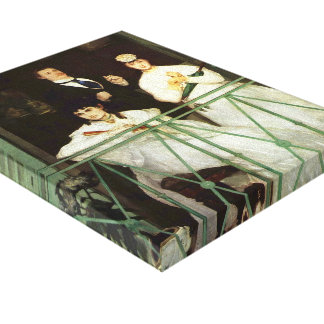 Edouard Manet- The Balcony Gallery Wrapped Canvas