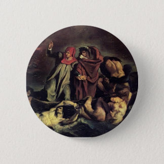 Edouard Manet- The barque of Dante Pinback Button