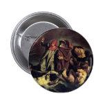 Edouard Manet- The barque of Dante Pinback Button