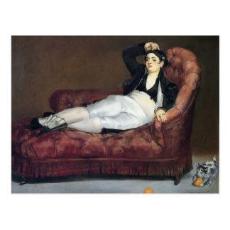 Edouard Manet- The barque of Dante Postcard