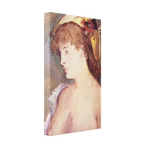 Edouard Manet - The Blond Nude Gallery Wrapped Canvas