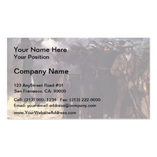 Edouard Manet-The Execution of Emperor Maximilian Business Card Template