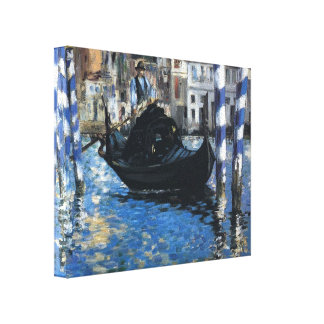 Edouard Manet- The grand canal of Venice Canvas Print