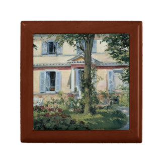 Edouard Manet - The House at Rueil Keepsake Box