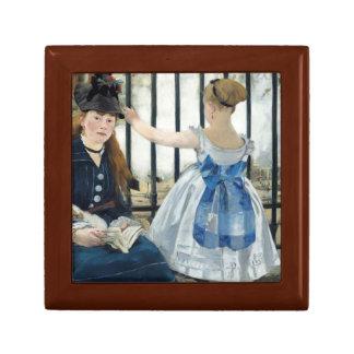 Edouard Manet - The Railway Jewelry Box