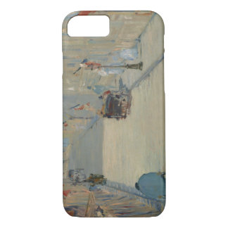 Edouard Manet - The Rue Mosnier with Flags iPhone 7 Case
