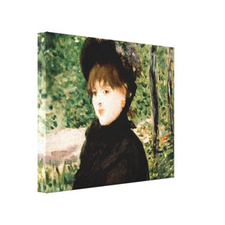 Edouard Manet- The stroll Gallery Wrapped Canvas