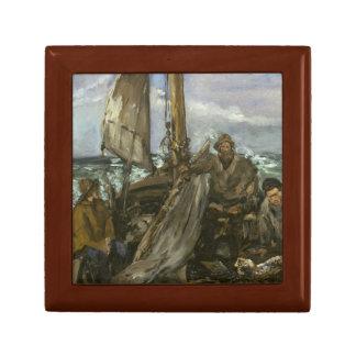 Edouard Manet - The Toilers of the Sea Keepsake Box