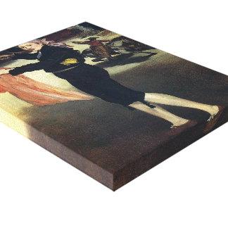 Edouard Manet-Victorine Meurent in Espada costume Canvas Prints