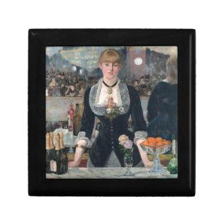 Edouard Manet's A Bar at the Folies-Bergère Keepsake Box